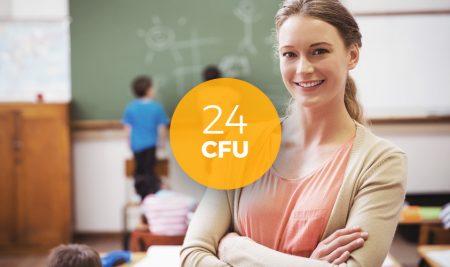 Consegui 24 CFU per diventare Insegnante