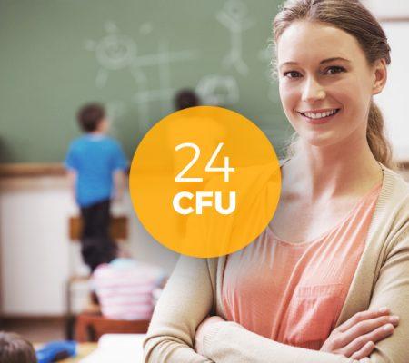Aggiornamento professionale 24 CFU (D.M. 616/2017)